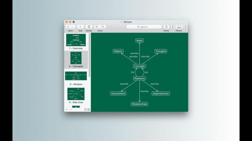 Conceptorium for Mac - review, screenshots