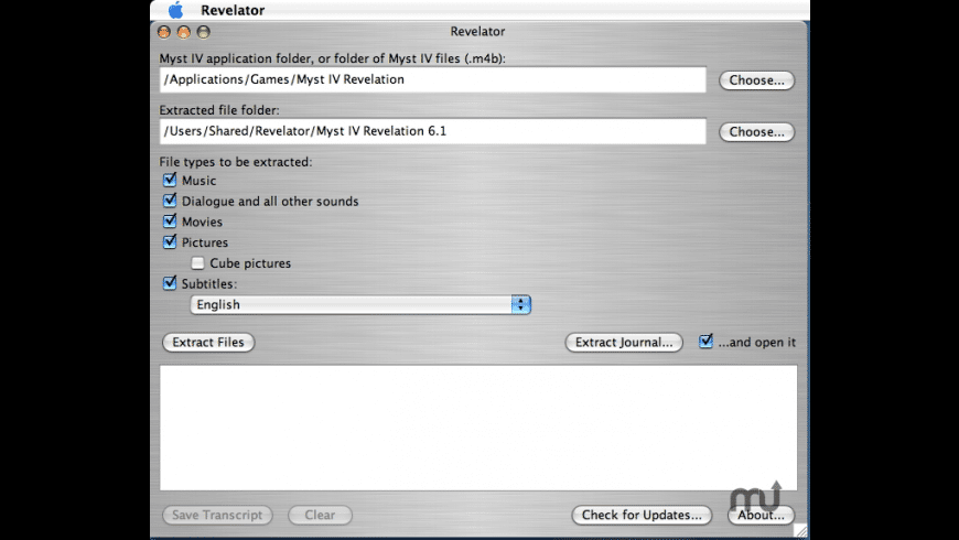 Revelator for Mac - review, screenshots