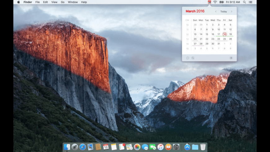 Calendar 366 for Mac - review, screenshots