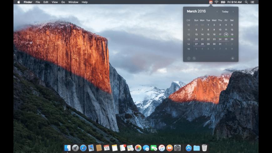 Calendar 366 for Mac - review, screenshots