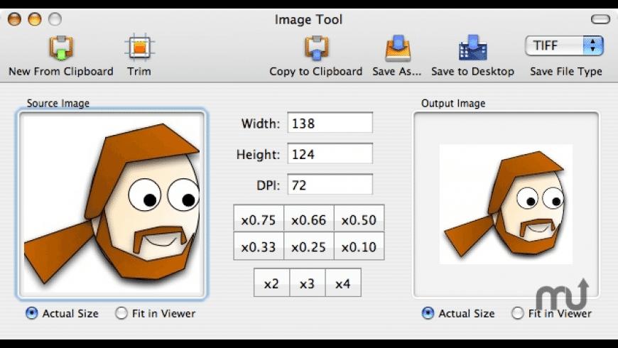 Image Tool for Mac - review, screenshots