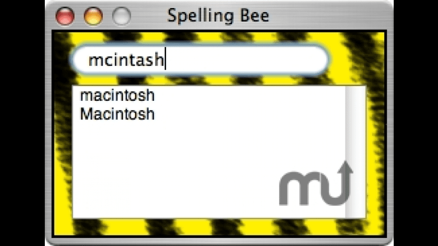 Spelling Bee for Mac - review, screenshots