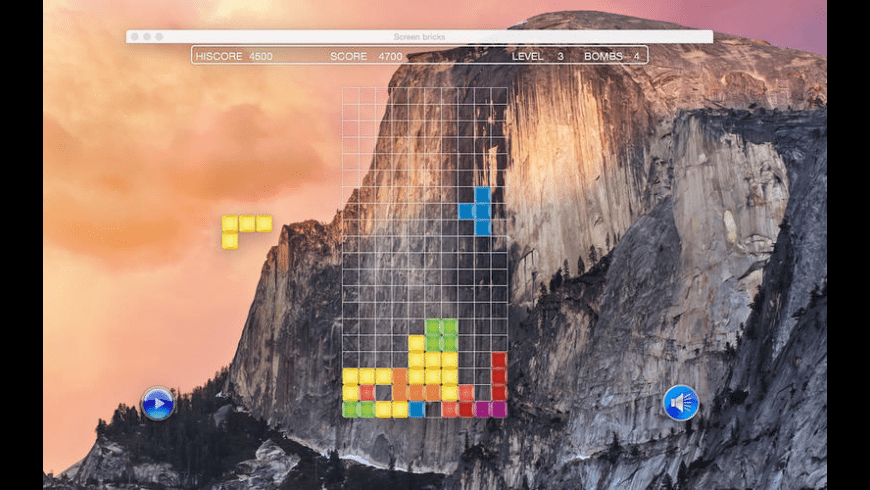 Screen bricks for Mac - review, screenshots