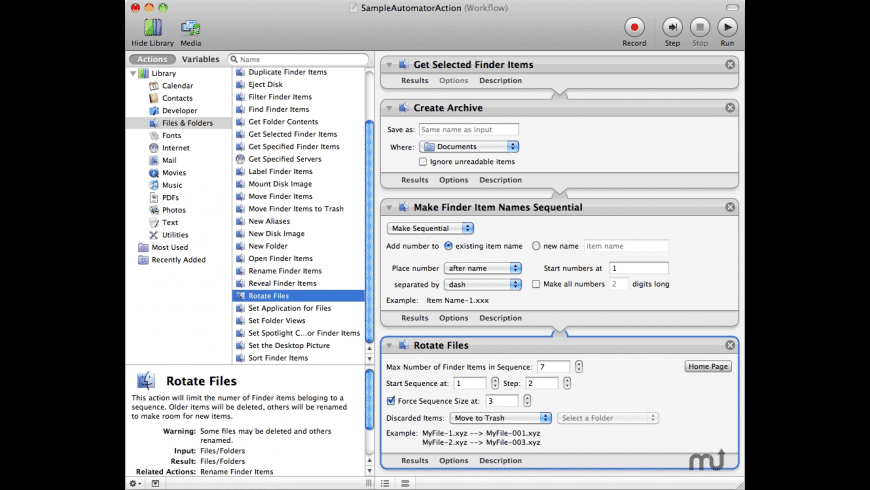 Rotate Files for Mac - review, screenshots