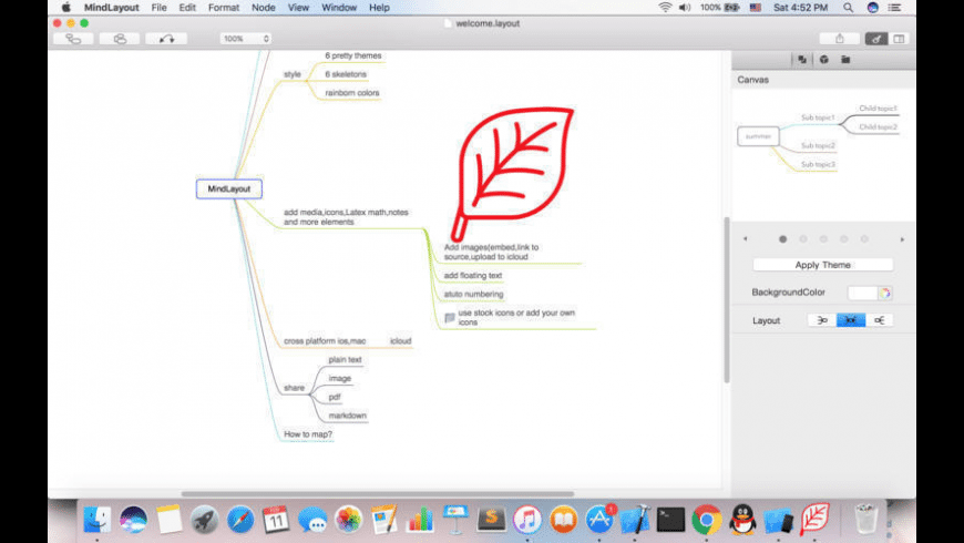 MindLayout for Mac - review, screenshots