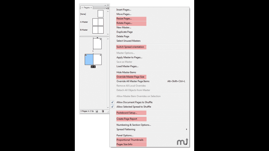 Page Control for Mac - review, screenshots