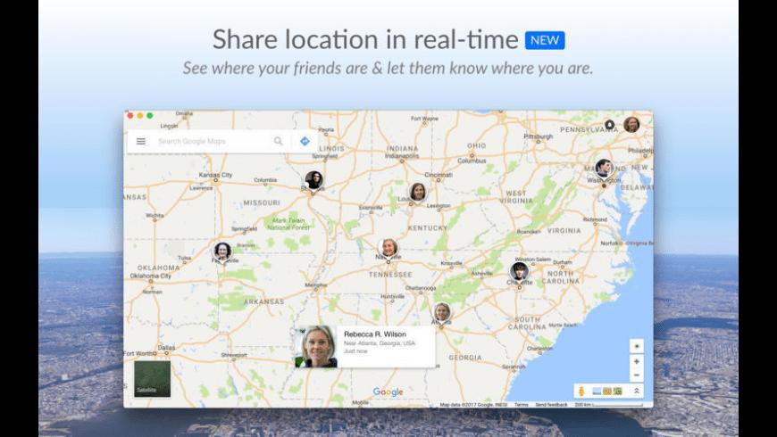QuickMap for Mac - review, screenshots