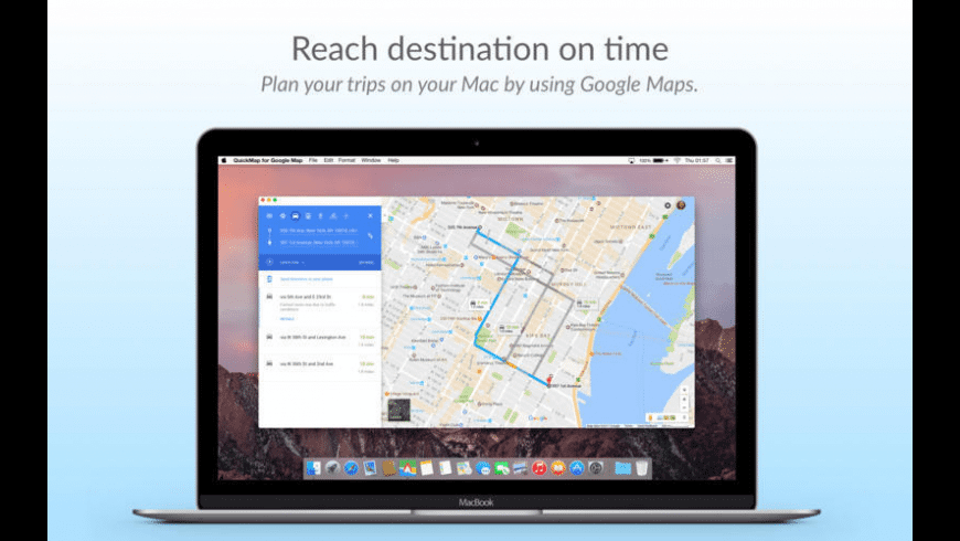 QuickMap for Mac - review, screenshots