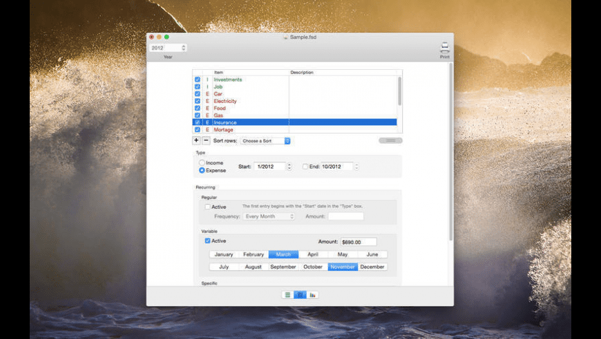 Foresight for Mac - review, screenshots