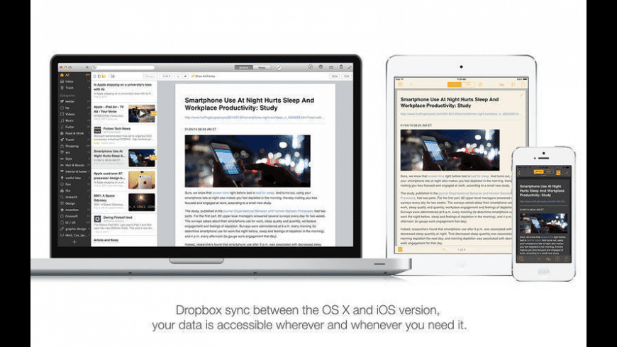 Keep Everything Premium for Mac - review, screenshots