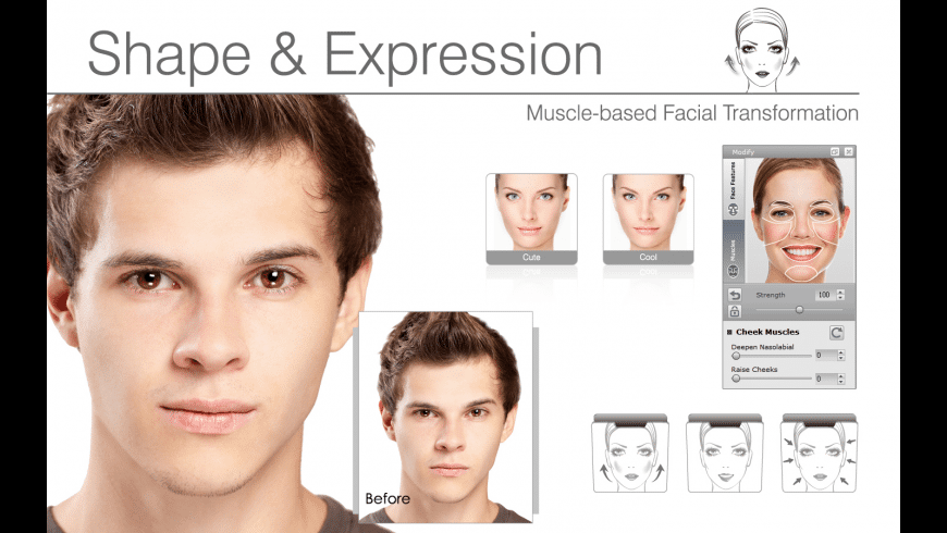 FaceFilter Standard for Mac - review, screenshots