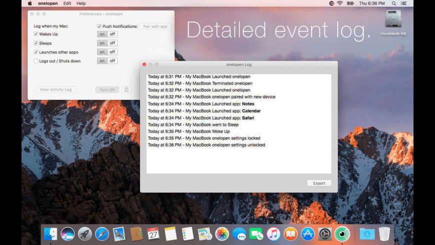 oneIopen for Mac - review, screenshots