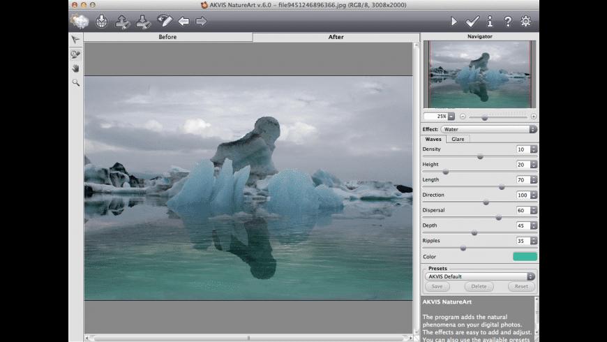 AKVIS NatureArt for Mac - review, screenshots