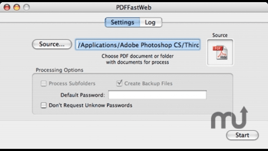 PDFFastWeb for Mac - review, screenshots