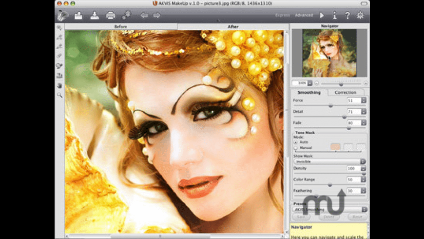 AKVIS MakeUp for Mac - review, screenshots