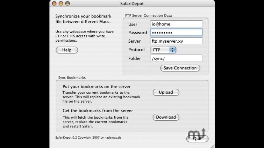SafariDepot for Mac - review, screenshots