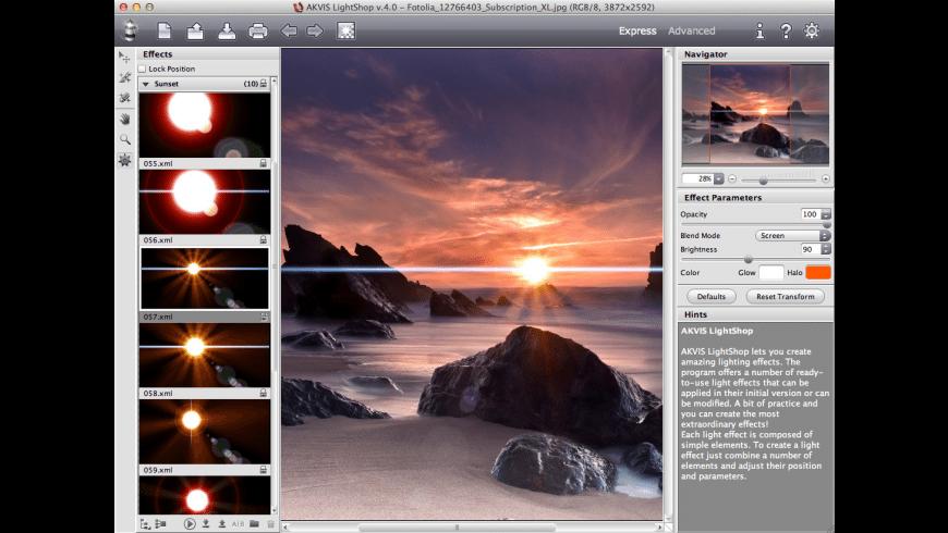AKVIS Lightshop for Mac - review, screenshots