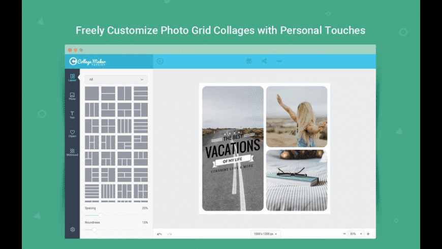 FotoJet Collage Maker for Mac - review, screenshots