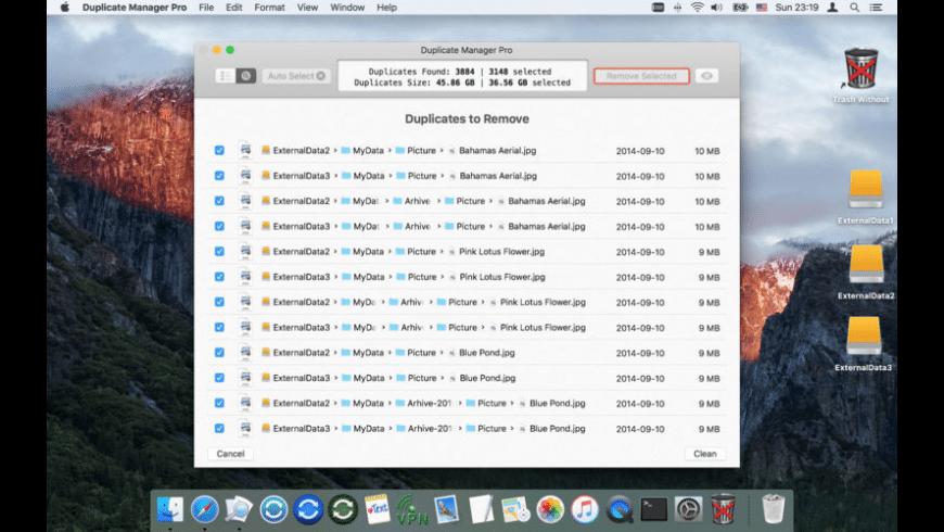 Duplicate Manager Pro for Mac - review, screenshots