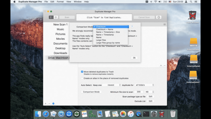 Duplicate Manager Pro for Mac - review, screenshots
