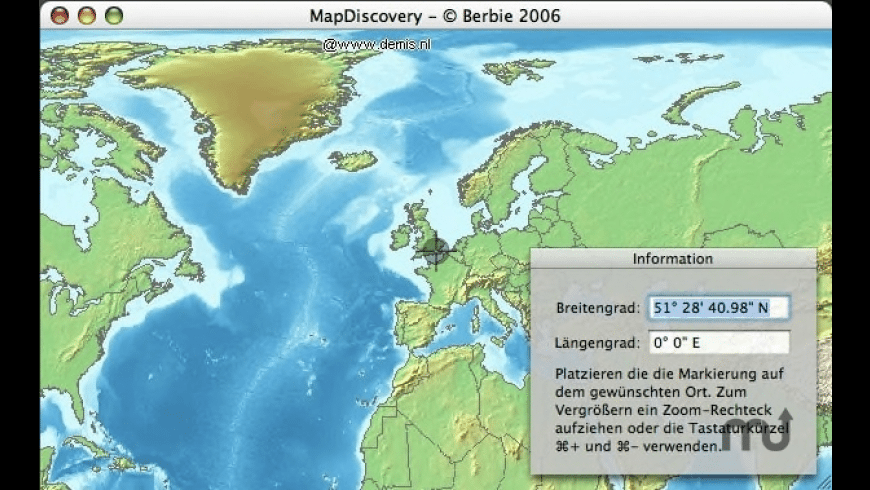 MapDiscovery for Mac - review, screenshots
