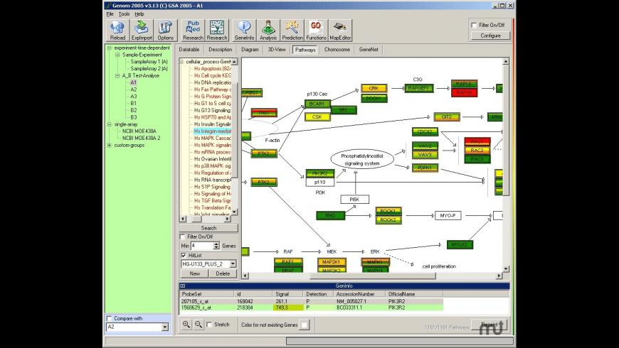 GENOM 2005 for Mac - review, screenshots