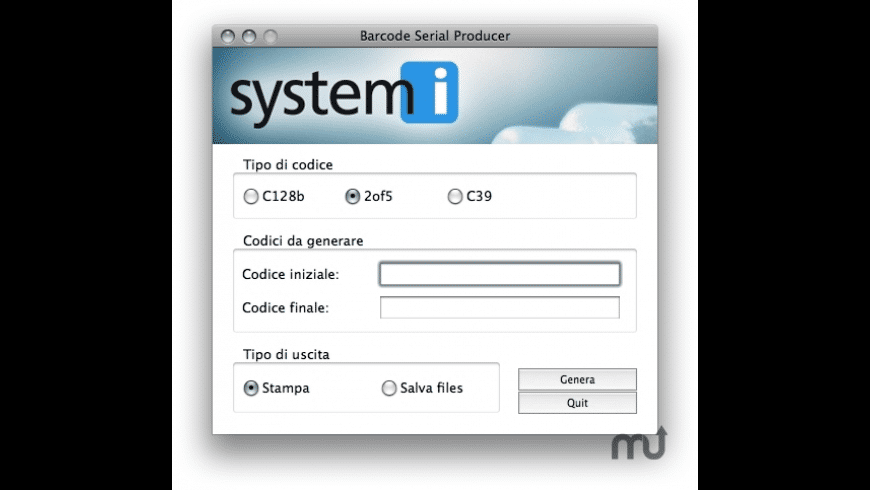 Barcode Serial Producer for Mac - review, screenshots