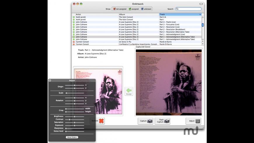 OnArtwork for Mac - review, screenshots