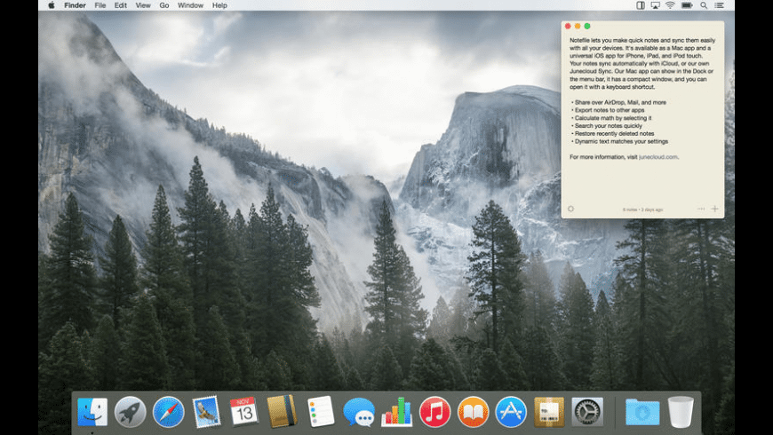 Notefile for Mac - review, screenshots