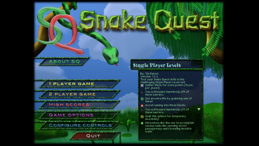 Snake Quest for Mac - review, screenshots