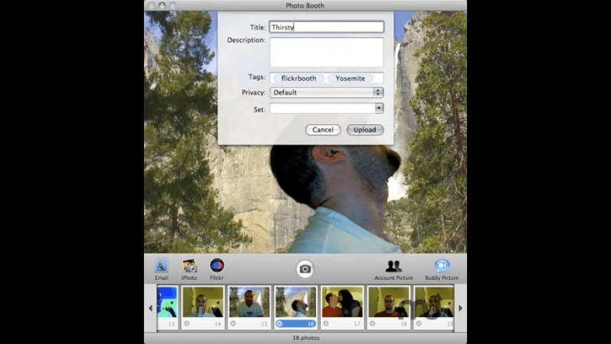 FlickrBooth for Mac - review, screenshots