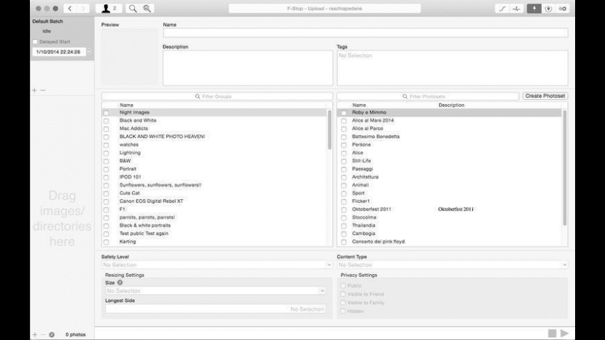 F-Stop for Mac - review, screenshots