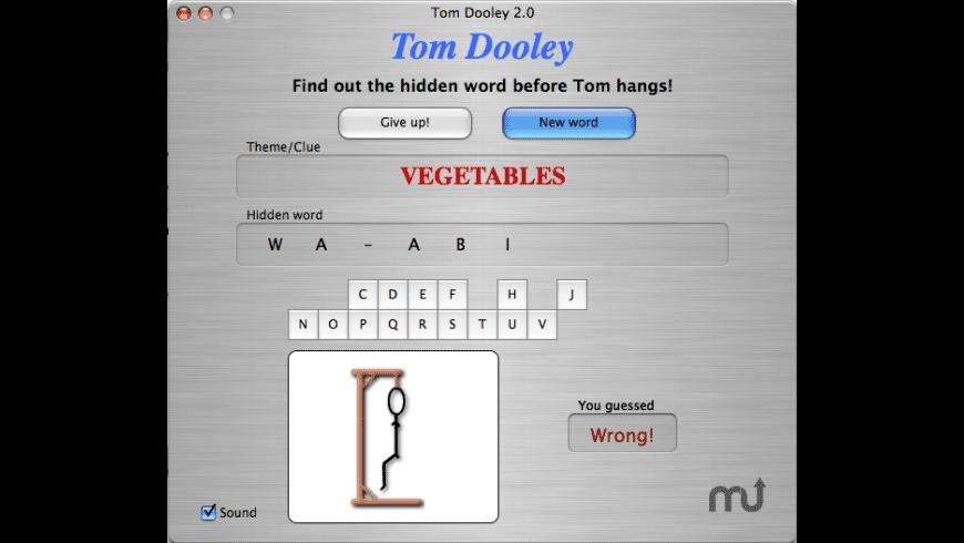 Tom Dooley for Mac - review, screenshots