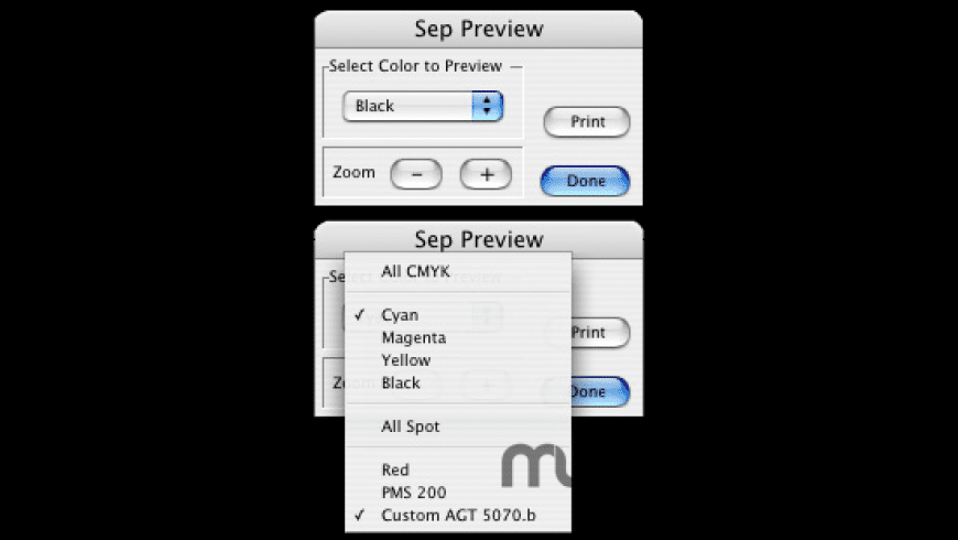 SepPreview_CS2 for Mac - review, screenshots