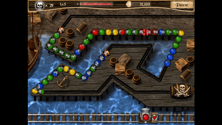 Pirate Poppers for Mac - review, screenshots