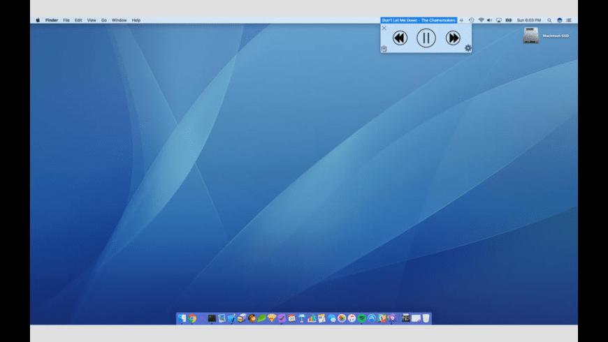 Song Bar for Mac - review, screenshots