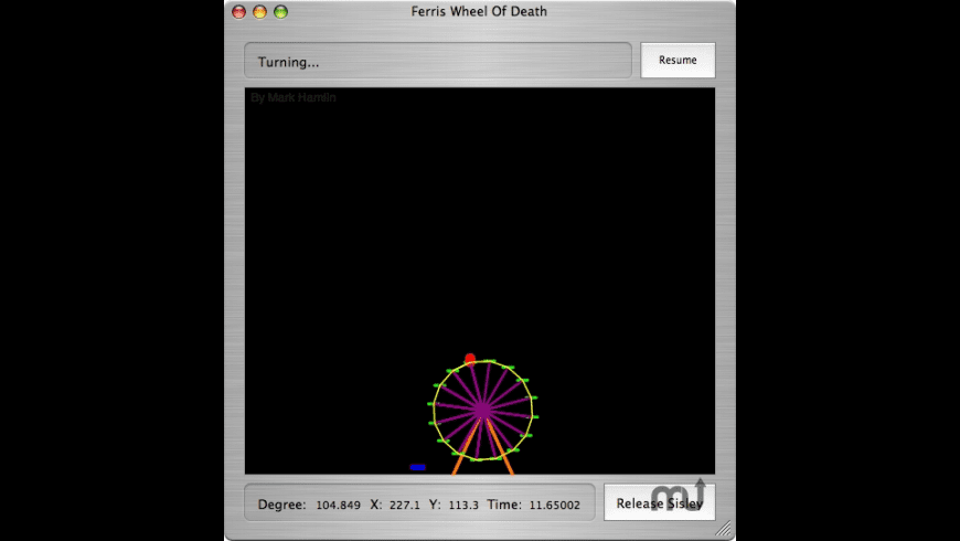 Ferris Wheel Of Death for Mac - review, screenshots