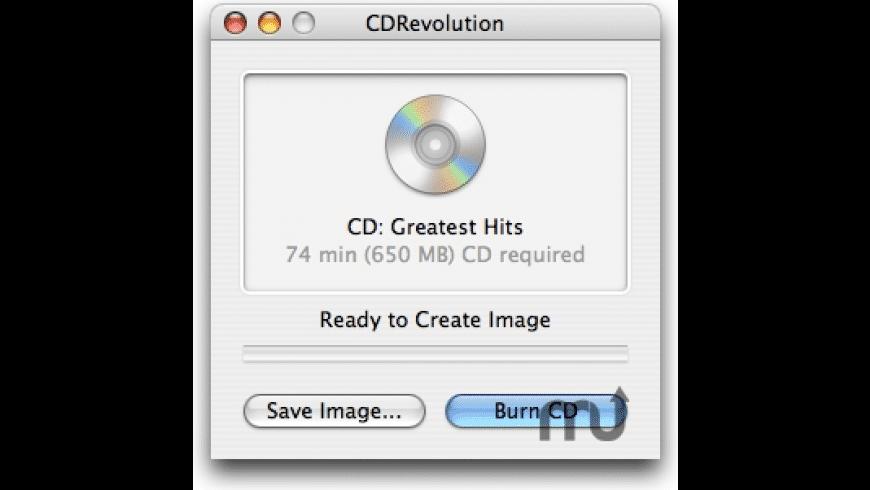 CDRevolution for Mac - review, screenshots
