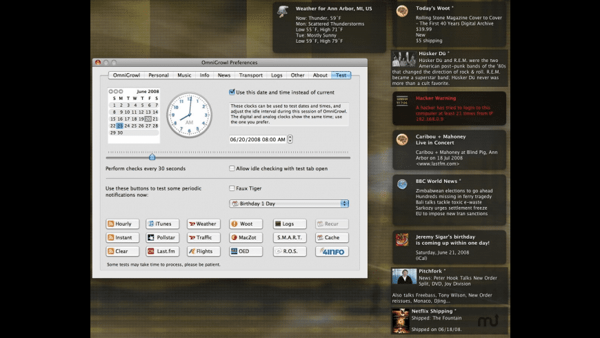 OmniGrowl for Mac - review, screenshots