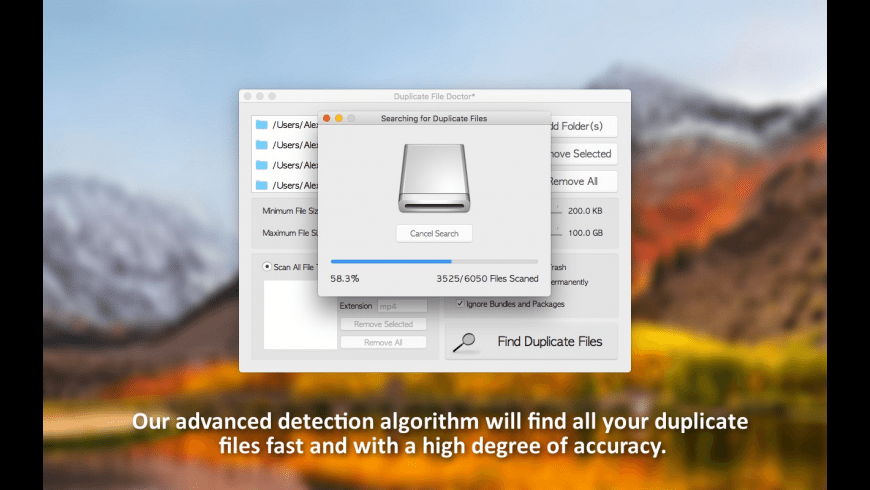 Duplicate File Doctor for Mac - review, screenshots