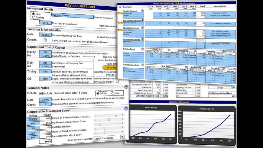 Business Valuation for Mac - review, screenshots