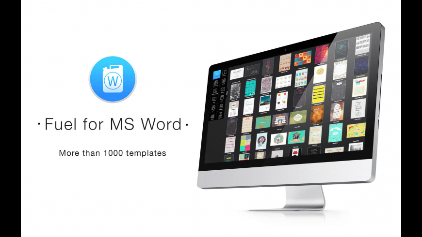 Fuel for MS Word for Mac - review, screenshots