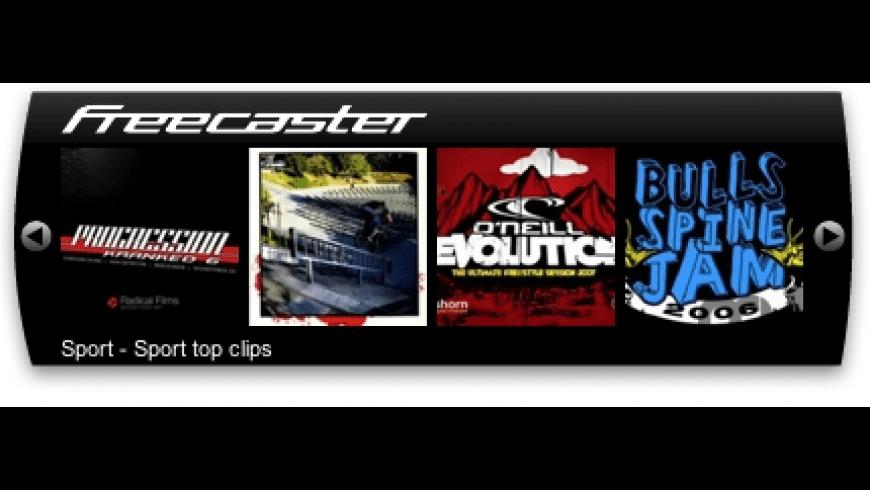 Freecaster for Mac - review, screenshots
