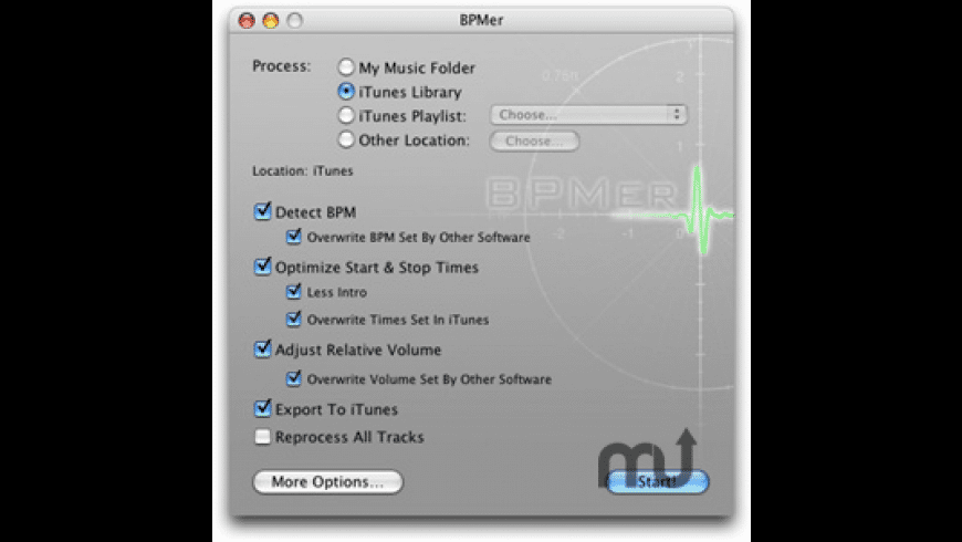 BPMer for Mac - review, screenshots