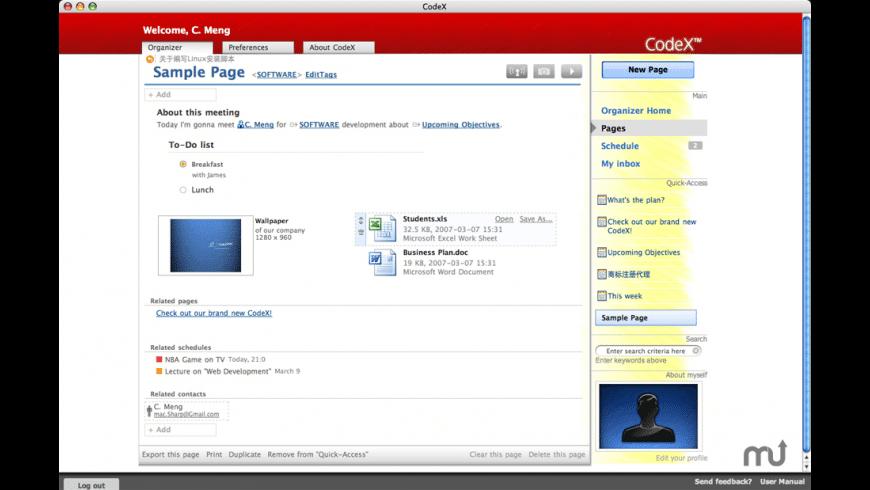 CodeX for Mac - review, screenshots