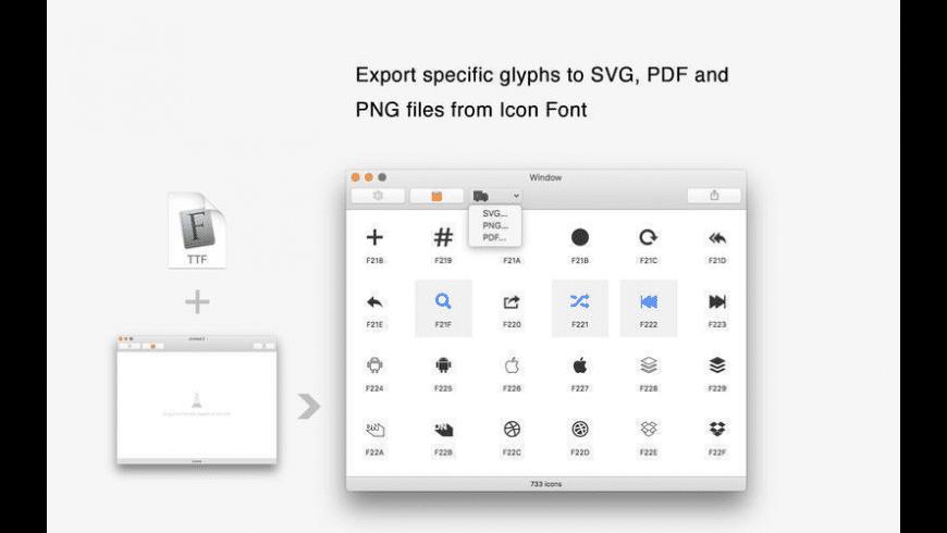WebFont for Mac - review, screenshots