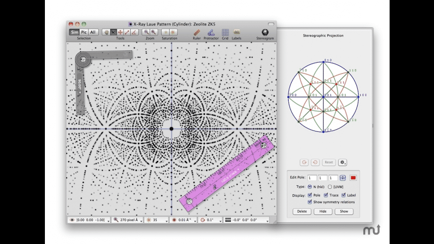 SingleCrystal for Mac - review, screenshots