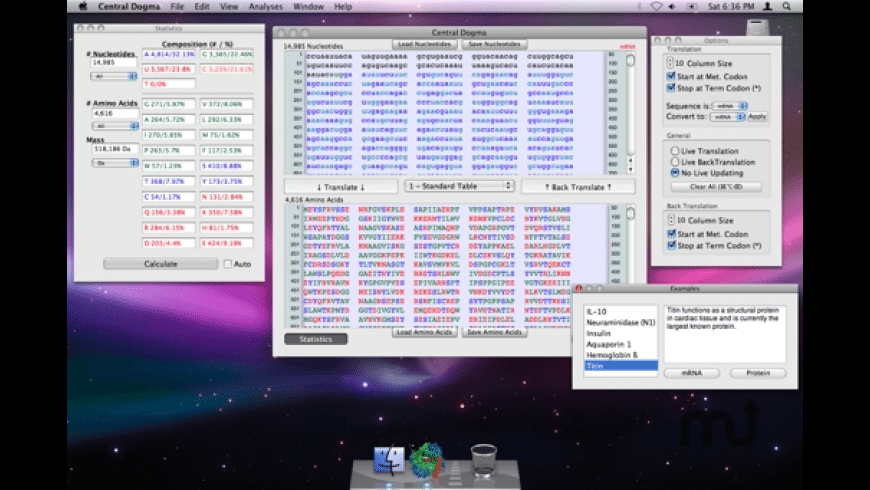 Central Dogma for Mac - review, screenshots