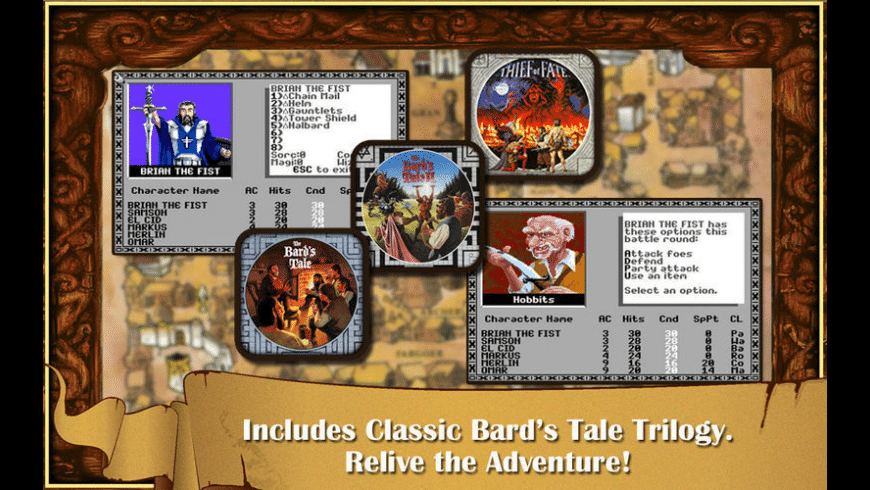 The Bard's Tale for Mac - review, screenshots