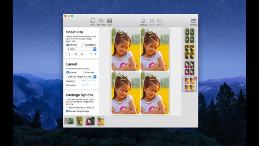 PhotoSheet for Mac - review, screenshots